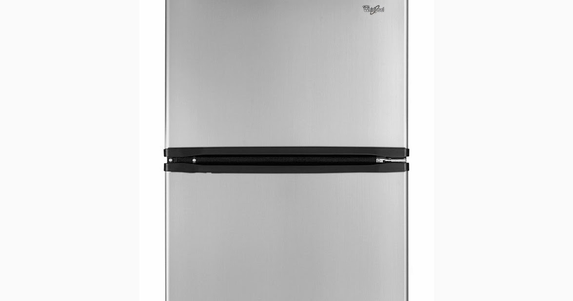 Whirlpool Refrigerator Brand Stainless Steel Top Freezer