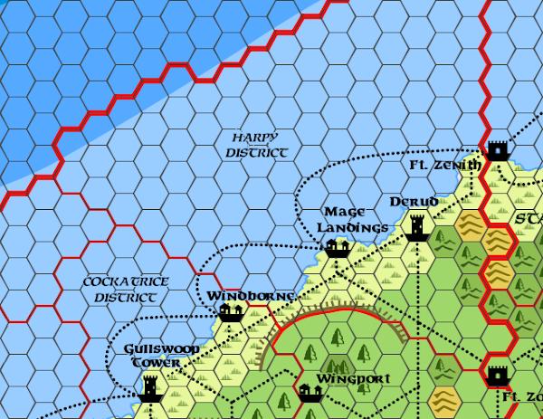Mystara Alphatia Ar Harpy Map
