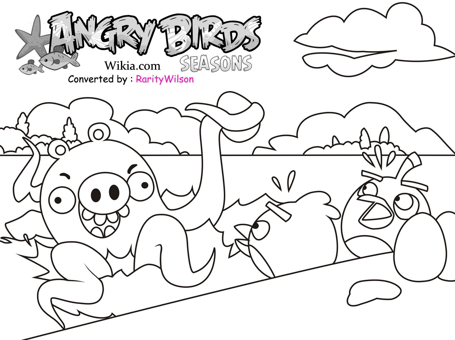 coloring pages angry birds printable - photo#44