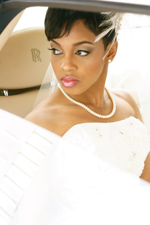 Wedding Hairstyles for African American Women with Short Hair 2013