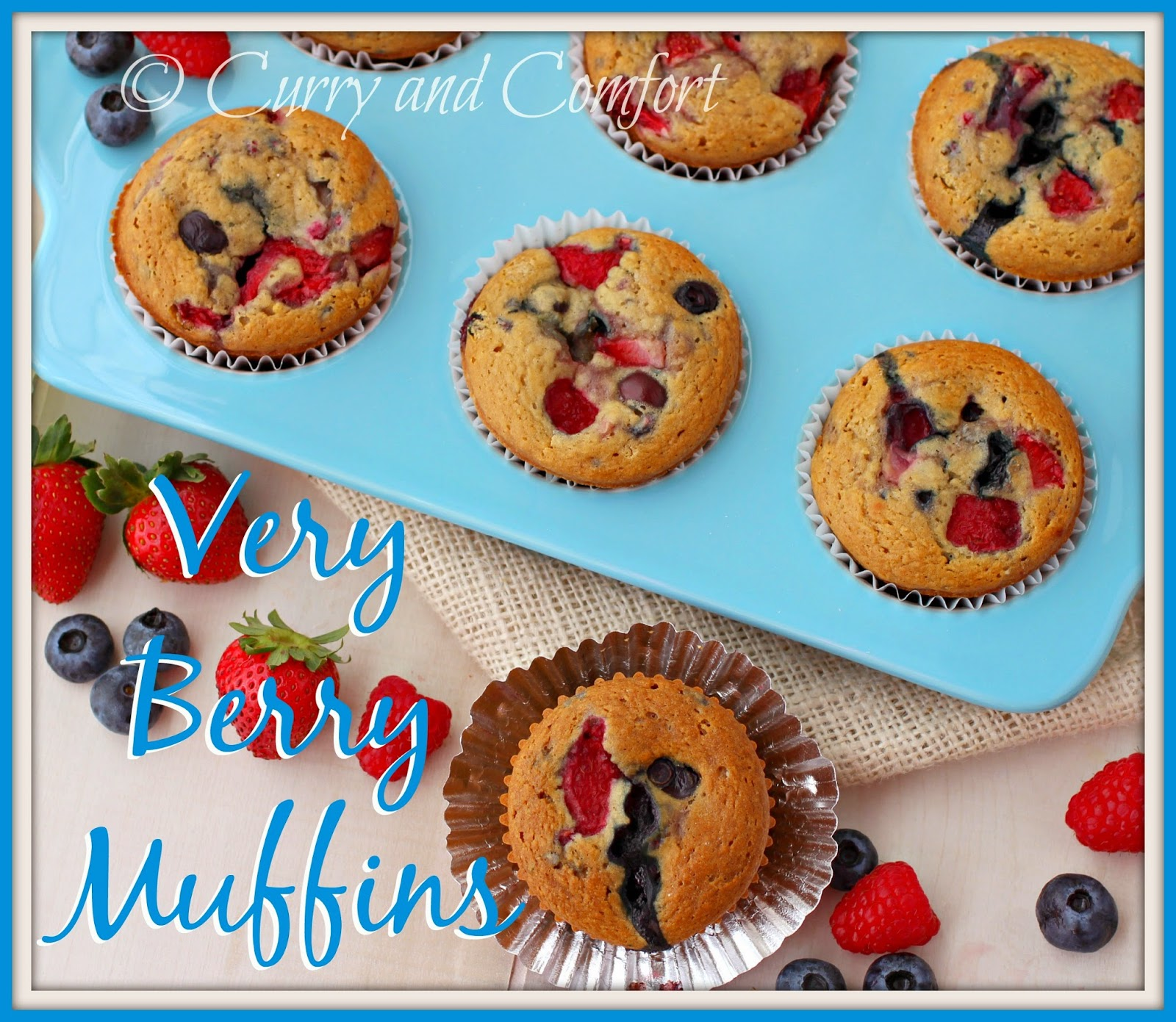 Kitchen Simmer: Very Berry Muffins