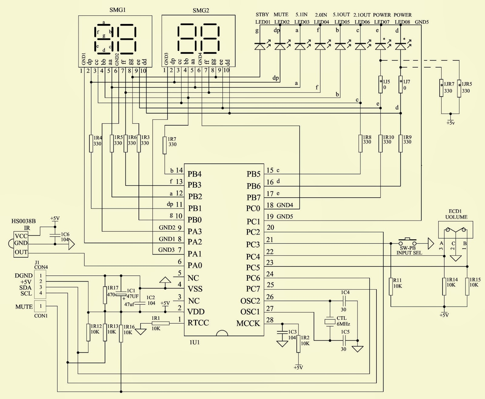 Semiconductor Symbols moreover Easy   Wiring as well Panasonic Ag 520vdh Tvdvdvcr further Scr Triggering Using Ujt also Proscan Crk83 Ml1 Remote Control Setup. on electronic circuit diagrams