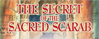 THE SECRET OF THE SACRED SCARAB Book Blast & Giveaway