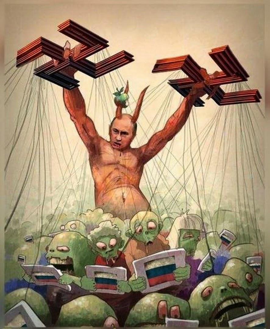 Antichrist-Putin - puppeteer