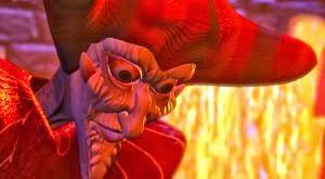Le sorcier Zarok dans Medievil sur Playstation