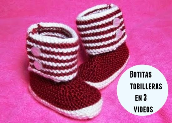 botitas,crochet,tutoriales