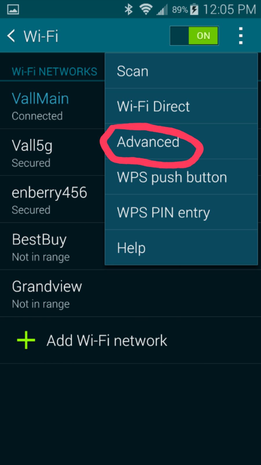 How can I find out the IP address of the HP LasrJet P1102w printer