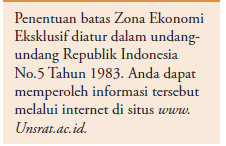 Batas Teritorial, Landas Kontinen, dan Zona Ekonomi Eksklusif (ZEE)