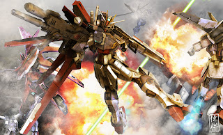 deviantart digital painting fanart gundam fan art 3d force impulse