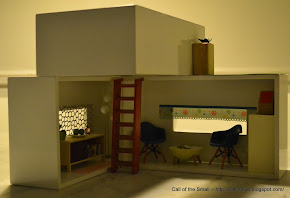 My Tissue Box House on Design Milk