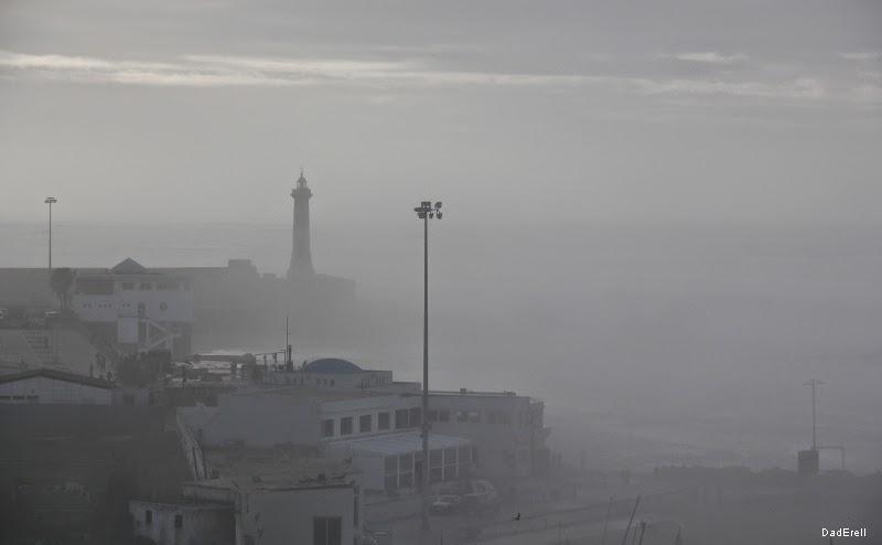 Brume sur le Bou Regreg, Rabat