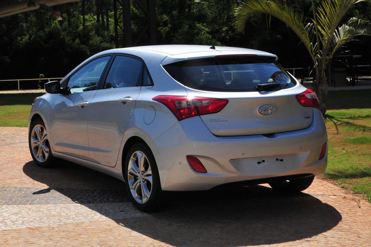 Novo Hyundai i30 2014 - traseira