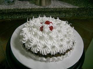 Merengue Italiano, Cubierta de Torta