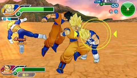 Dragon Ball Z Tenkaichi Tag Team [USA] PPSSPP ISO/CSO - Jagat Software ...