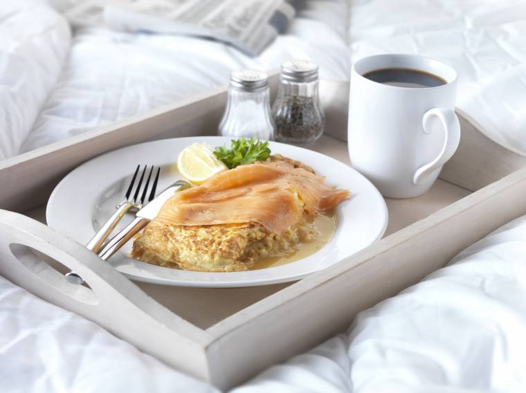 Smoked Salmon Omelette... | Claire Justine Oxox