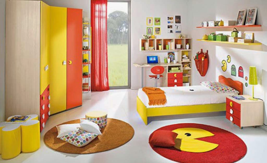 Themes Very Happy And Bright Ren Room Design Ideas