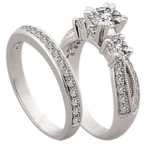 Engagement Rings Vs Wedding Rings Engagement Rings Vs Wedding Rings Picture