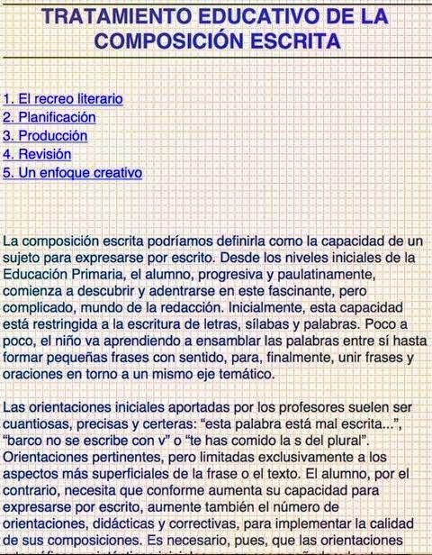 http://www.juntadeandalucia.es/averroes/%7Ecepco3/competencias/lengua/primaria/TRATAMIENTO%20EDUCATIVO%20DE%20LA%20COMPOSICI%D3N%20ESCRITA.pdf