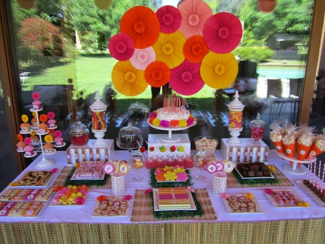 Mesas dulces ideas deco fiestas - Ideas decoracion fiestas ...