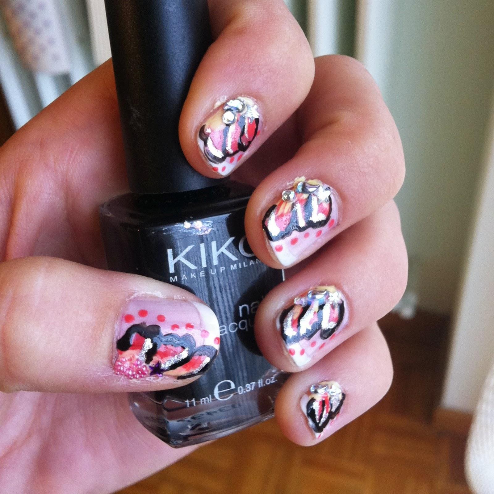 Deeply diva weekly nail art 9 - Diva nails prodotti ...