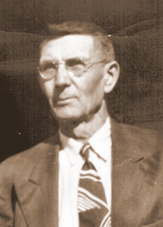 Albert Desgroseilliers about 1955