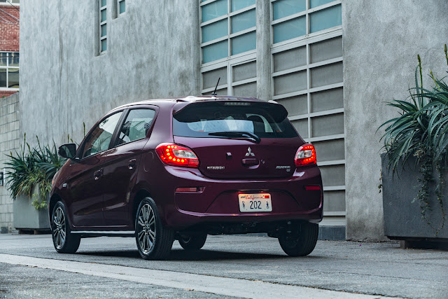 2017 Mitsubishi Mirage GT rear