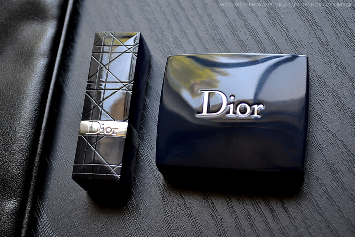 Dior Backstage Makeup Set - Stylish Move Eyeshadow Palette - VIP Pink Lipstick - Photos Swatches