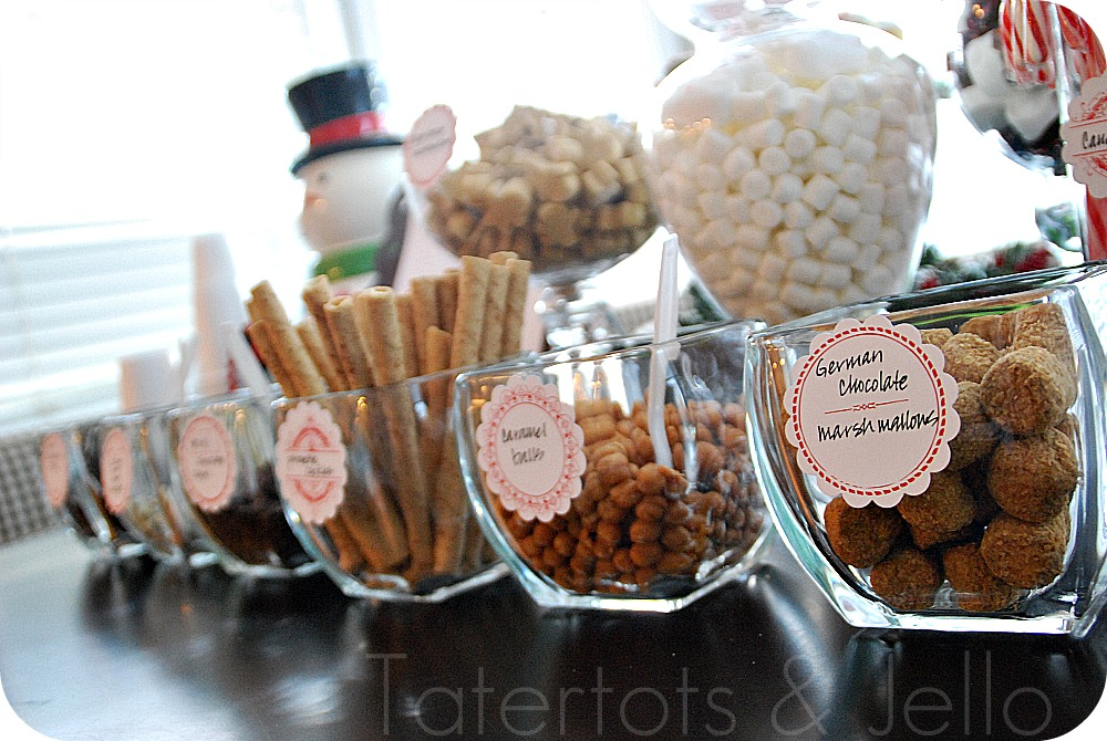 Hiving Out Hot Chocolate Bar