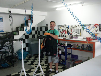 Session brasil race service marzocchi for Oficinas race