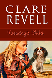 Tuesday's Child cover - a blonde woman and a dog are shown.