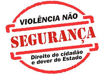 BASTA DE INSEGURANÇA!