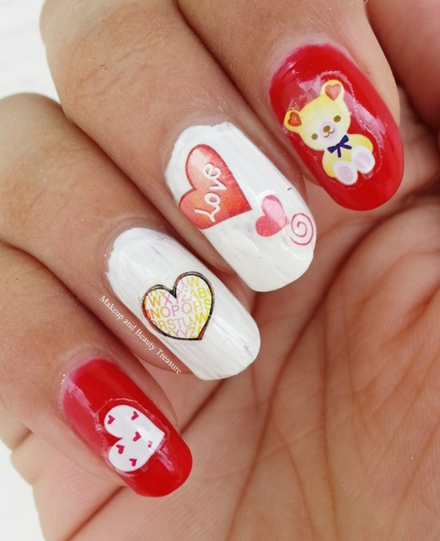 Heart-Nail-Stickers