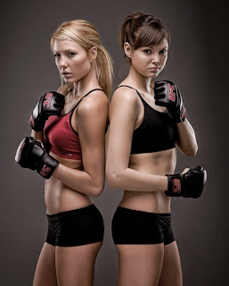 Sexy boxing girls