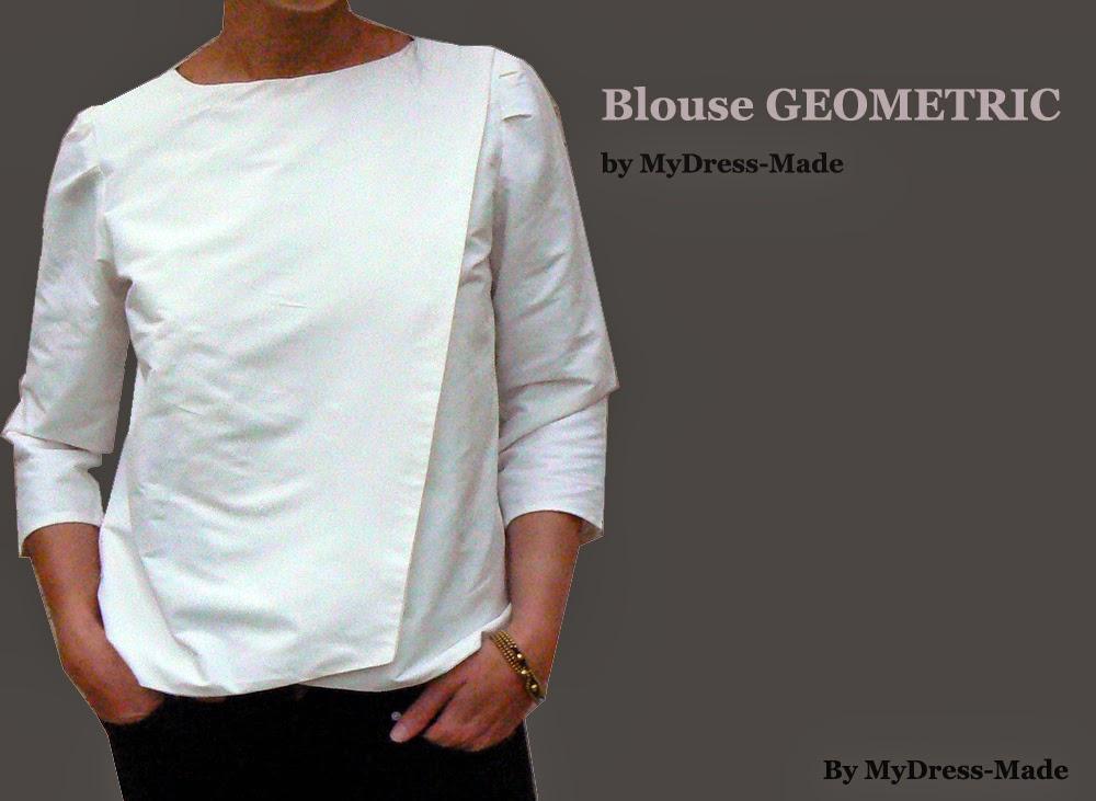 Blouse Geometric by MDM