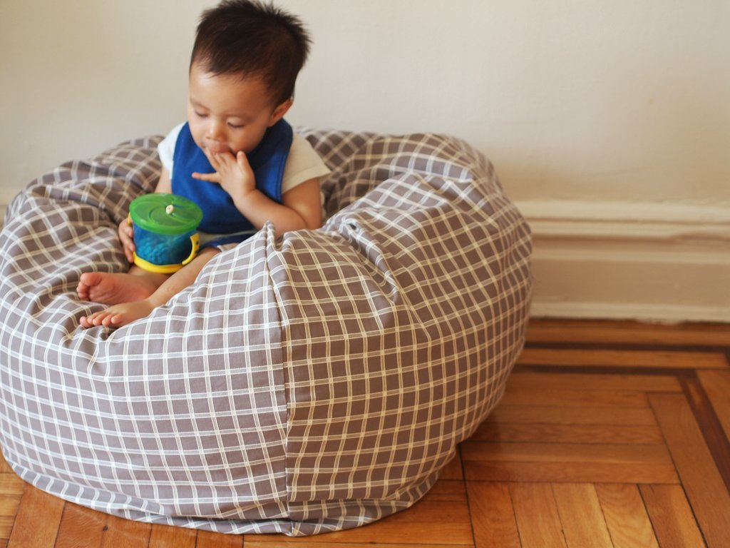 This Chair May Look Like A Beanbag But Its Not Filled With Stuffing Instead Of Beads Basically One Huuuuuuge Pillow