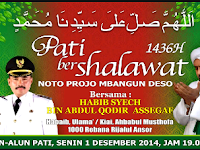 Ikuti Pengajian Pati Bersholawat bersama Habib Syeh Bin Abdul Qodir Assegaf