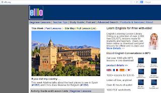 http://elllo.org/