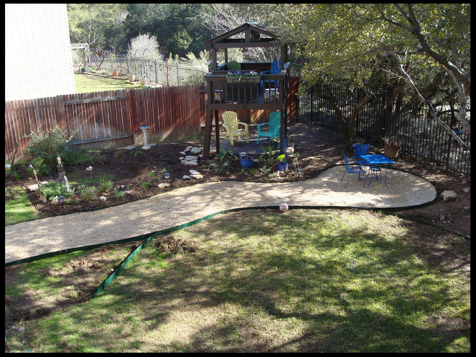garden path wanderings one project down