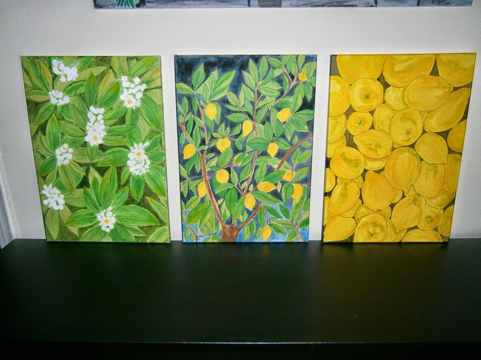 Τα άνθη, η λεμονιά και τα λεμόνια