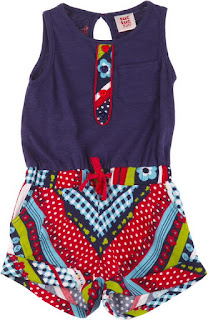 Girls Playsuit - Tuc Tuc Summer Swimmer