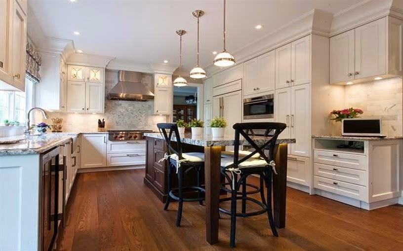 Un aire moderno en la cocina clásica - Cocinas con estilo
