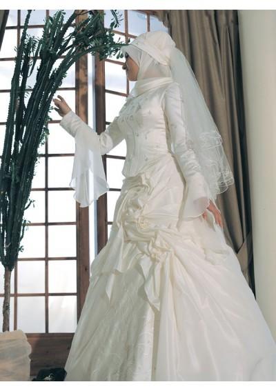Islamic Wedding Dresses For   : Muslim wedding dresses hijab trade fashion