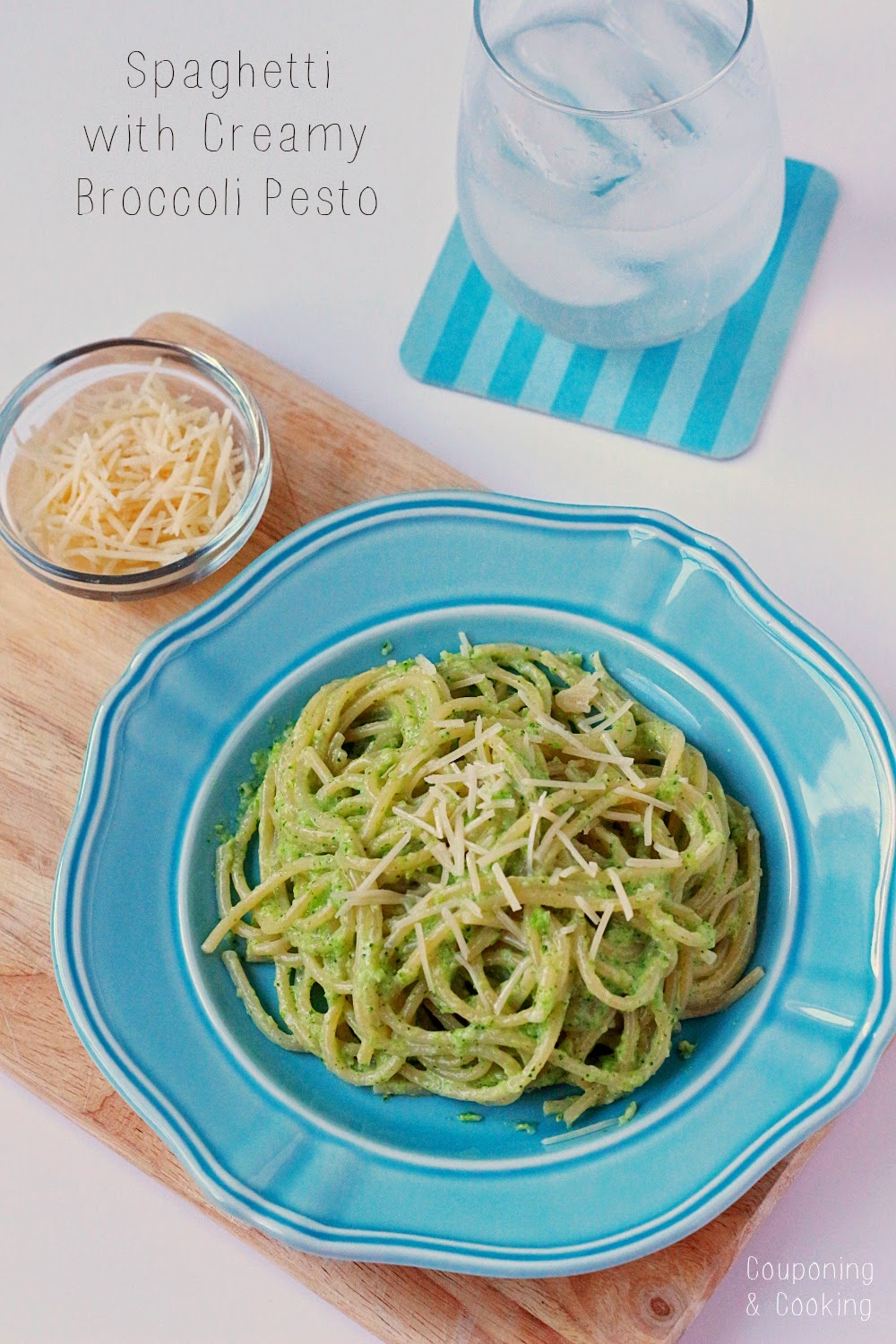 Spaghetti With Creamy Broccoli Pesto | Couponing & Cooking