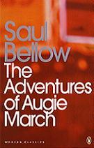 The Adventures of Augie March by Saul Bellow book cover