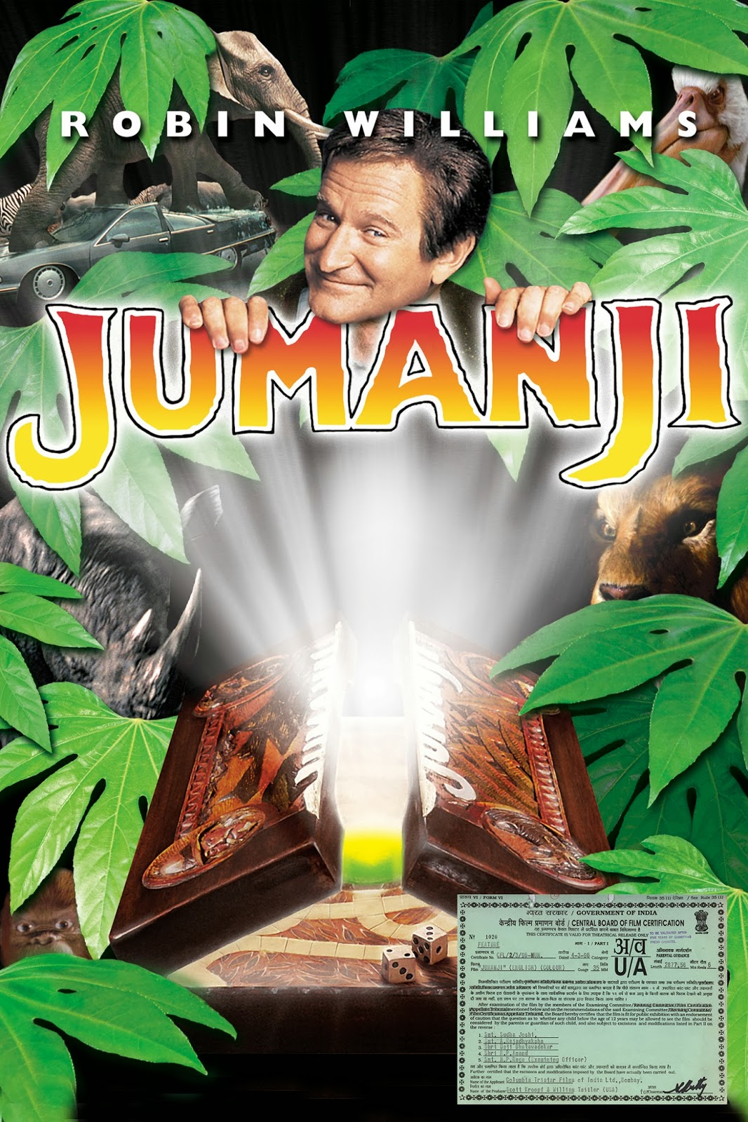 Download Jumanji (1995) BluRay 720p