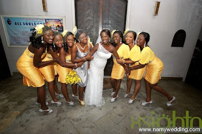 Pictures From Obiwon's Church Wedding & Reception. 22