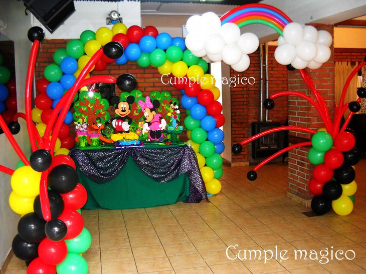 Ambientaciones para cumplea os fiestas tem ticas infantiles for Buenas ideas decoracion