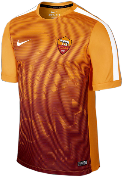 AS Roma 2015 Pre-Match II Jersey