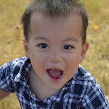 Samuel is 2-years-old.