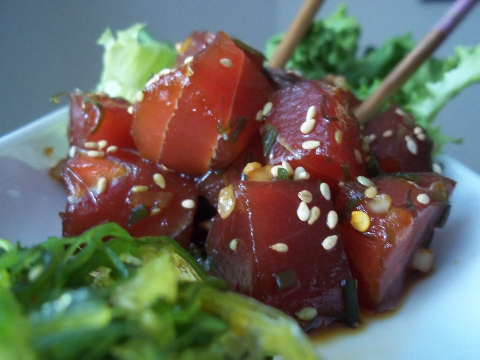 Ahi Poke Basic Recipes — Dishmaps